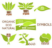 Eco logos Stock Image