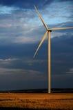 Eco makt på natten Arkivbild