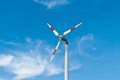 Eco makt, vindturbiner Royaltyfri Foto