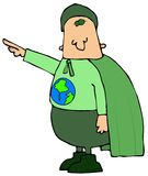 Eco Man Stock Photo