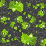 Eco manufacture abstract technology background. Stock Image