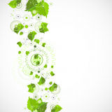 Eco manufacture abstract technology background. Royalty Free Stock Photography