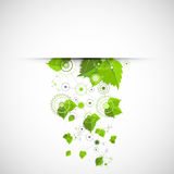 Eco manufacture abstract technology background. Royalty Free Stock Photo