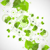 Eco manufacture abstract technology background. Royalty Free Stock Photos