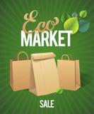 Eco Market Sale Stock Photos