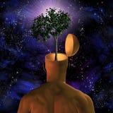 Eco-mente Imagem de Stock Royalty Free