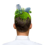 Eco Mind Royalty Free Stock Images