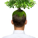 Eco mind Royalty Free Stock Photography