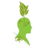 Eco mind stock image