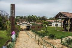 Eco-musée - barrage d'Itaipu - le Brésil photos stock