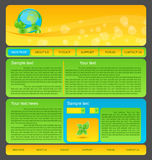 Eco nature environmental web template Stock Photo