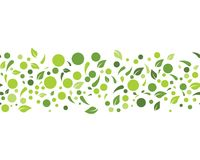 Eco nature Leaf Background Vector Illustration. Eco nature Leaf Background concept Vector Illustration royalty free illustration