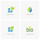 Eco and nature logo Royalty Free Stock Photos