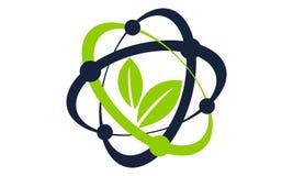Eco nauki technologii Lab royalty ilustracja