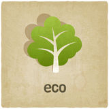 Eco old background Stock Images