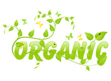 Eco organic Royalty Free Stock Photos