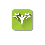 Eco Organic Environment Clean Care Icon Stock Images