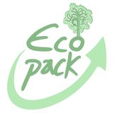 Eco pack Royalty Free Stock Photos