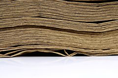 Eco paper Stock Image