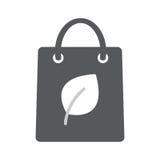 Eco paper bag icon. Stock Image