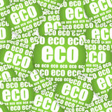 ECO paper sticker Royalty Free Stock Images