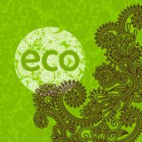 Eco pattern Royalty Free Stock Image
