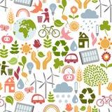 Eco pattern Stock Image