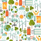Eco pattern Royalty Free Stock Photo