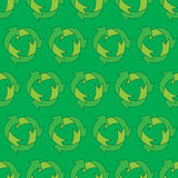 Eco pattern Stock Photography