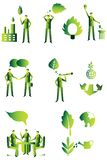Eco people group, business Stock Photography
