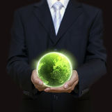 Eco planet royalty free stock image