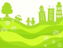 Eco planet Royaltyfria Bilder