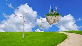 Eco planet, earth, globe, environmental Stock Image