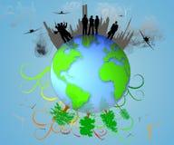 eco planeta Fotografia Royalty Free