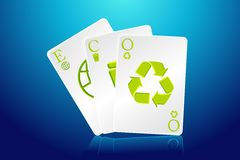 Eco Playing Card Stock Images