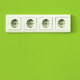 Eco plug Royalty Free Stock Images