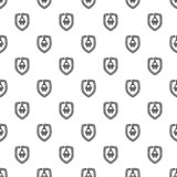 Eco plug shield pattern seamless vector stock illustration