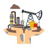 Eco pollution concept Royalty Free Stock Photography
