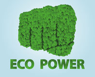 Eco Power Royalty Free Stock Photos