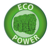 Eco power Royalty Free Stock Images