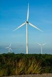 Eco power, wind turbines Royalty Free Stock Photos
