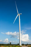 Eco power, wind turbines Royalty Free Stock Photography