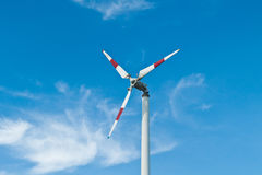 Eco power, wind turbines. In thailand Royalty Free Stock Photo