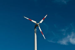 Eco power wind turbines. In thailand Royalty Free Stock Photography