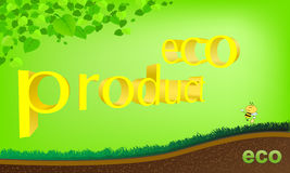 Eco product business brochure Stock Photography
