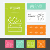 Eco Products Identity Royalty Free Stock Images