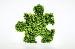 Eco pusseltecken Arkivbild