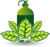 Eco ręki obmycia logo royalty ilustracja
