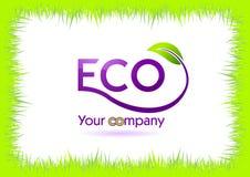 eco ramy trawy odosobniony biel Zdjęcia Royalty Free