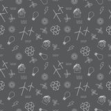 Eco a rapporté la copie sans couture Contient des symboles pour différents types de production d'électricité : générateurs de ven illustration stock